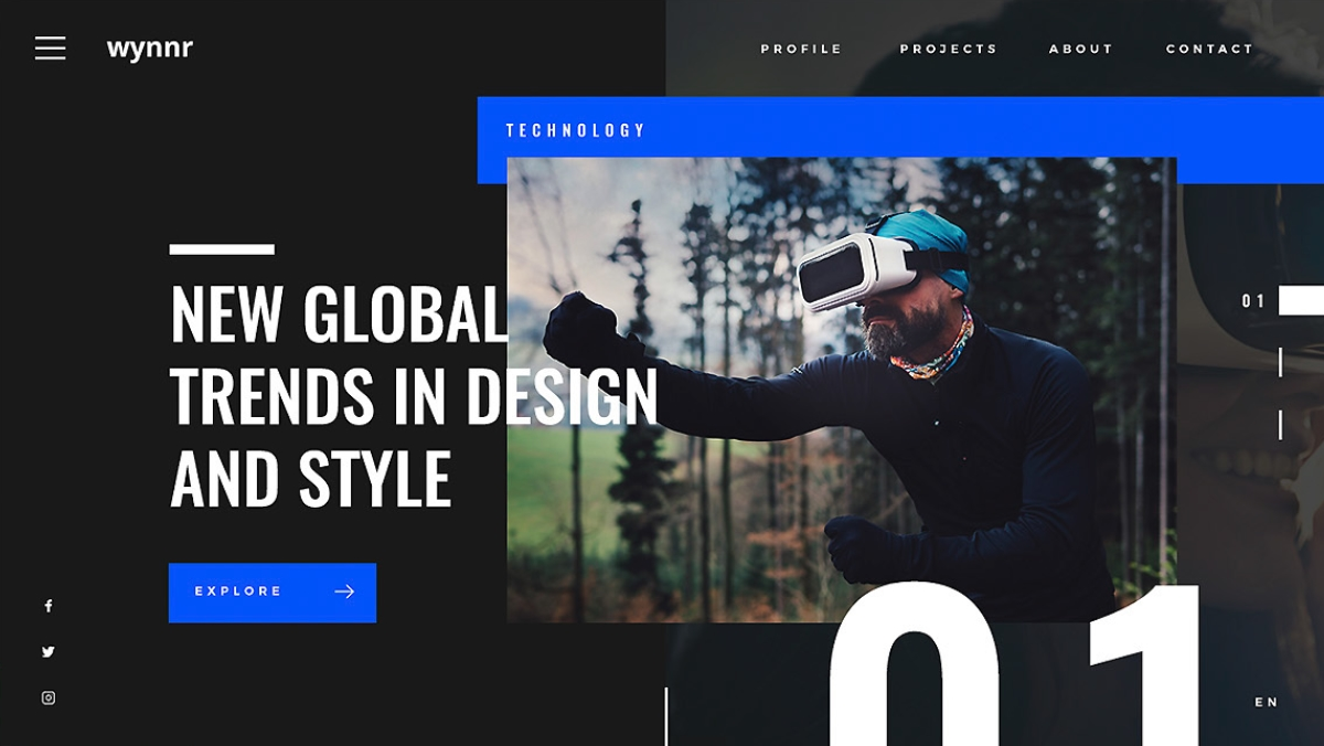 design your website in 2019 trends